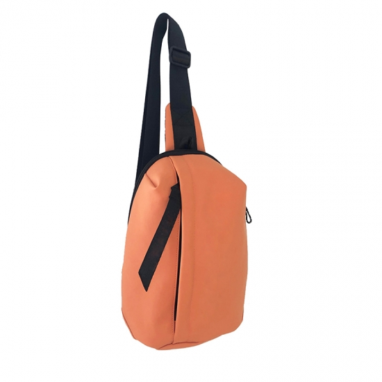 PU Leather Sling Backpacks
